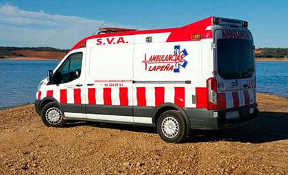 Ambulancias de soporte vital avanzado en Valencia, Castellón y Alicante