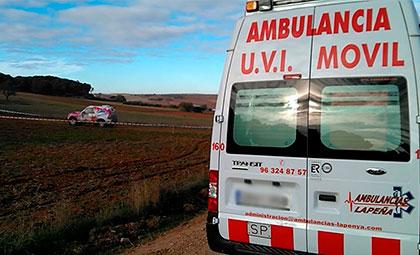 Ambulancias para eventos deportivos en Valencia, Castellón y Alicante