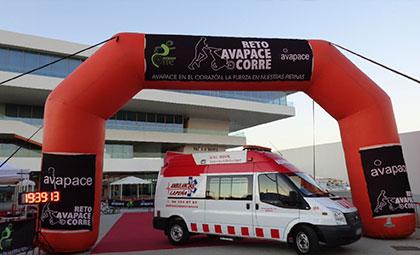 Ambulancias para eventos deportivos en la Comunidad Valenciana