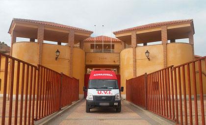 Ambulancias para eventos taurinos en Comunidad Valenciana