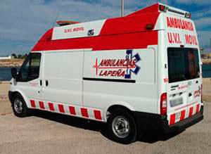 Ambulancias en Valencia, Castellón y Alicante