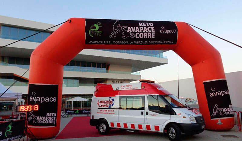 Transporte Sanitario para Eventos Deportivos en Valencia, Castellón y Alicante