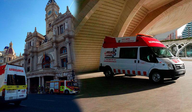 Transporte Sanitario para todo tipo de eventos con ambulancia en Valencia, Castellón y Alicante