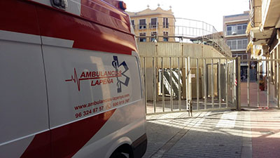 Ambulancias para Eventos - Ambulancias Lapeña