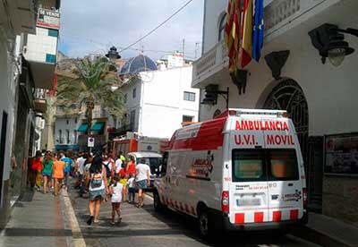 Ambulancias para fiestas patronales en Valencia