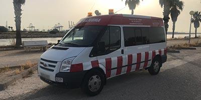 Contratación de ambulancias