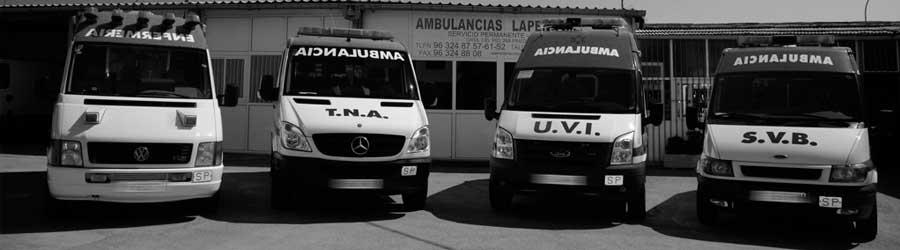 Servicios sanitarios en Valencia con ambulancias