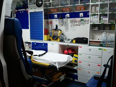 Ambulancias de soporte vital básico en la Comunidad Valenciana