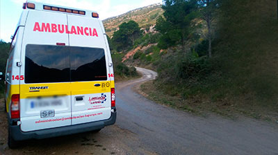 transporte sanitario en Valencia