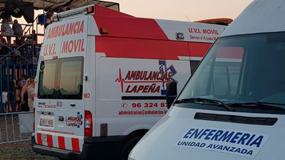 Servicio de ambulancias en Alicante