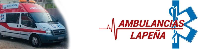 Ambulancias Lapeña - Alquiler de ambulancias en Valencia