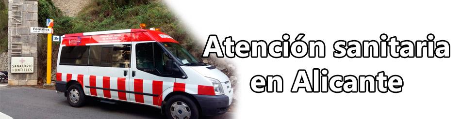 Servicios de atención sanitaria en Alicante