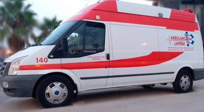 Solicite ahora ambulancias en Alicante