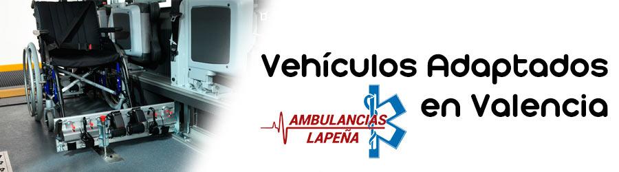 Solicite nuestros vehículos adaptados en Valencia