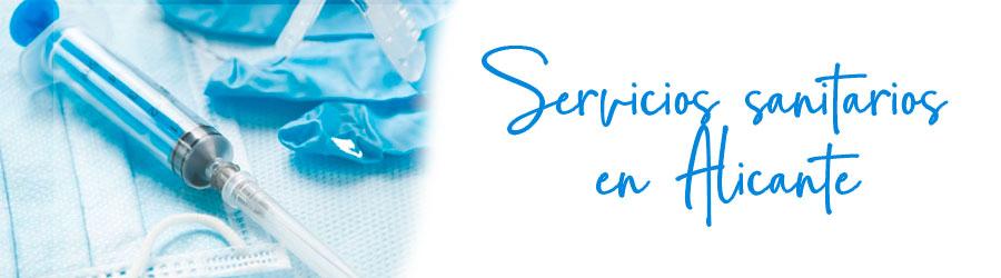 Servicios sanitarios en Alicante
