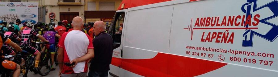 Eventos deportivos con Ambulancias