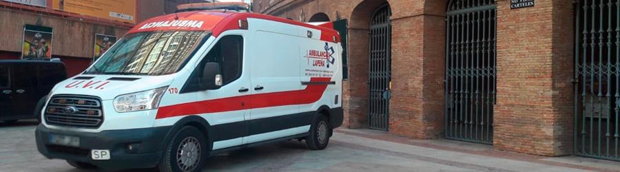 Ambulancias para Eventos Taurinos en Valencia, Alicante y Castellón