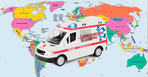 Traslados Internacionales en Ambulancia