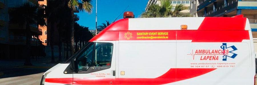 Ambulancias para cobertura médica en Valencia