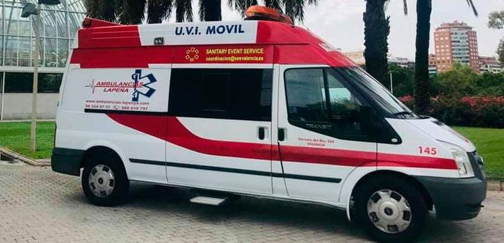 Servicios con Ambulancias en Valencia