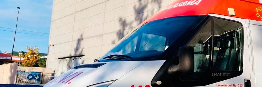 Ambulancias medicalizadas Valencia