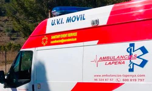 Alquiler Ambulancias Alicante