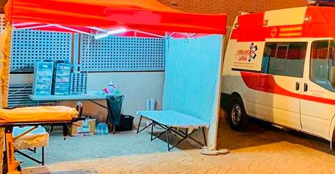 Enfermerías móviles en Valencia