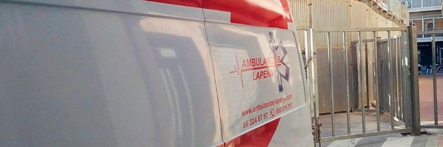 Ambulancias Lapeña en Valencia