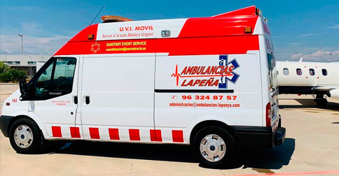 Contratación Ambulancias en Valencia