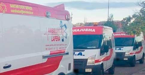 Traslados Internacionales Ambulancias Lapeña