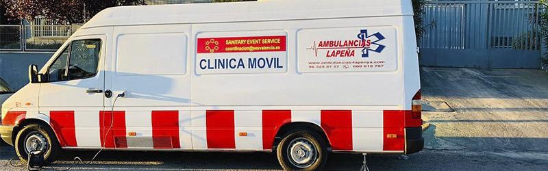 Vehiculos para reconocimientos medicos Alicante