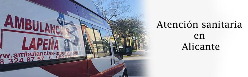 Atencion sanitaria en Alicante