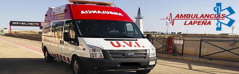Traslados nacionales ambulancia