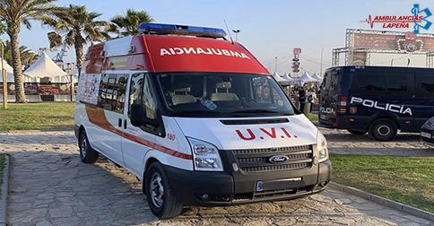 Servicio de ambulancias en Alicante