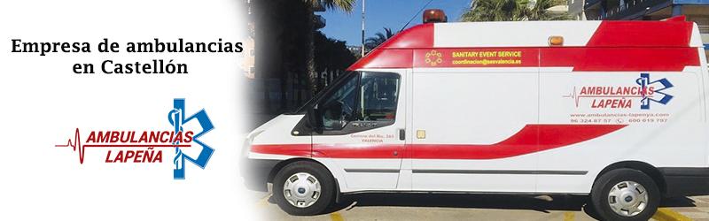 Empresa de ambulancias Castellón