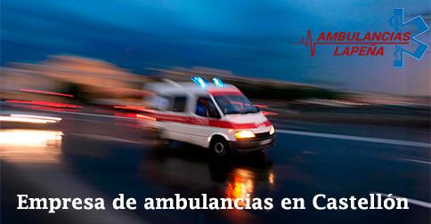 Empresa de ambulancias en Castellón