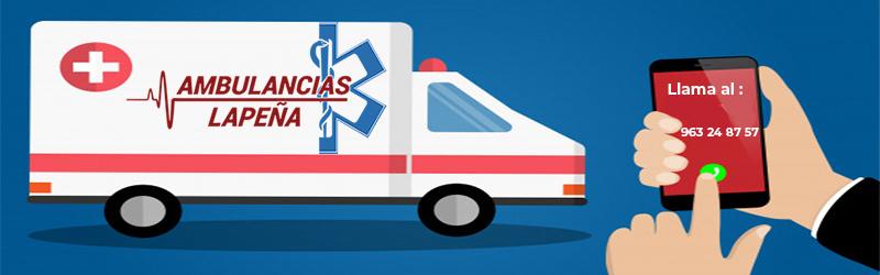 Teléfono ambulancias Valencia