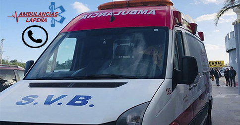 Teléfono ambulancias en Valencia