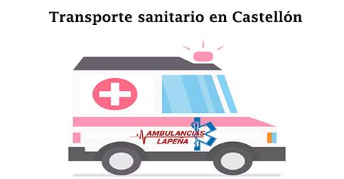 Transporte sanitario en Castellón