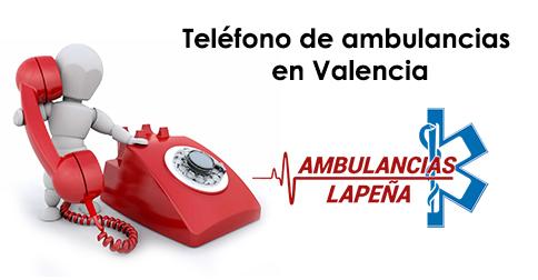 Teléfono de ambulancias en Valencia
