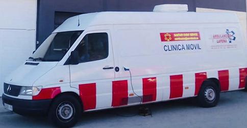 Clínicas móviles para reconocimientos médicos en Valencia