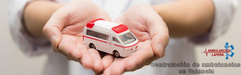 Contratación de ambulancias Valencia