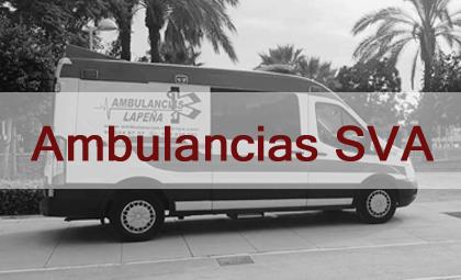 Ambulancias SVA Ambulancias Lapeña