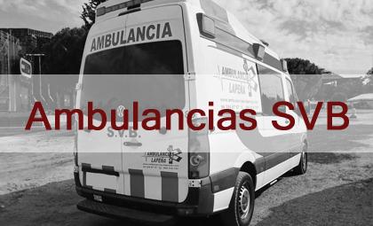 Ambulancias SVB Lapeña