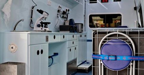 Clínicas móviles para reconocimientos médicos en Castellón