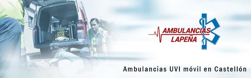 Ambulancias UVI móvil Castellón