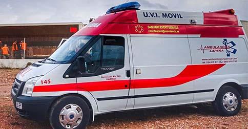 Ambulancias UVI móvil en Castellón