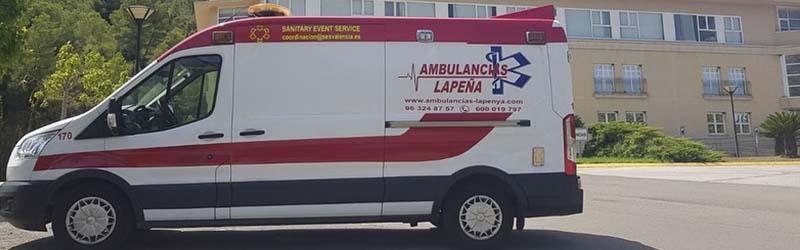 Alquiler de ambulancias Valencia