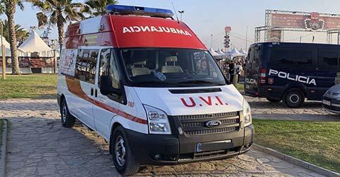 Alquiler de ambulancias en Valencia