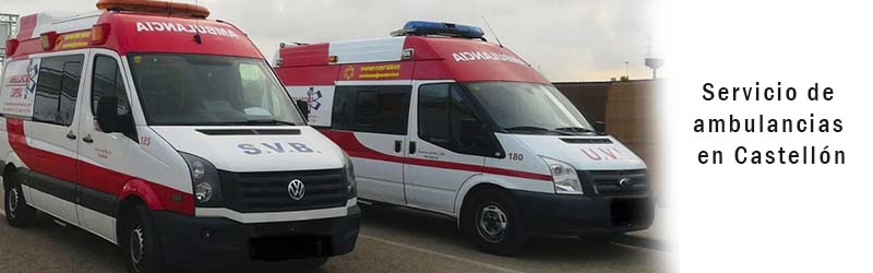 Servicio de ambulancias Castellón